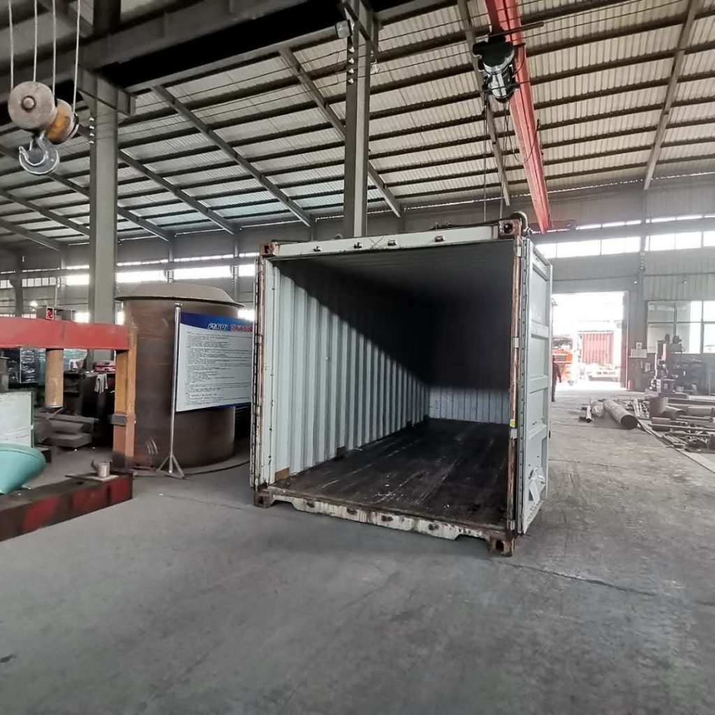 Container of Forui Machinery Factory