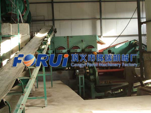 Equipments of Fluorspar production line in North Korea