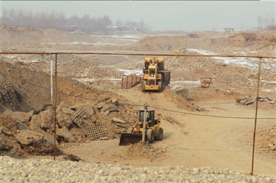 bulldozer mining for alluvial gold