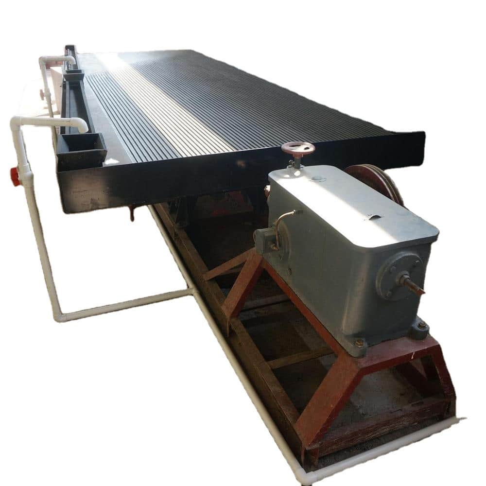 Shaking Table for Placer Gold Processing