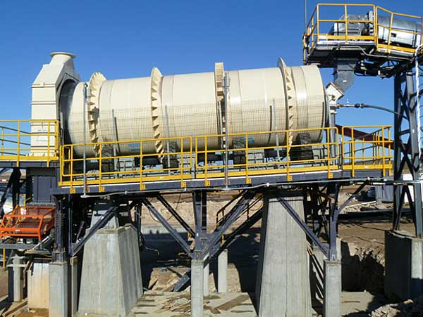 Trommel Scrubber for All Kinds of Refractory Bulk Ore