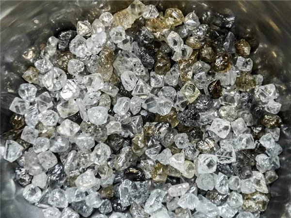 Result of Diamond Wash Plant in Angola
