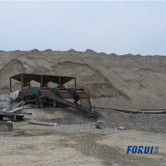 700TPD Alluvial Gold Mineral Processing Plant in Sichuan