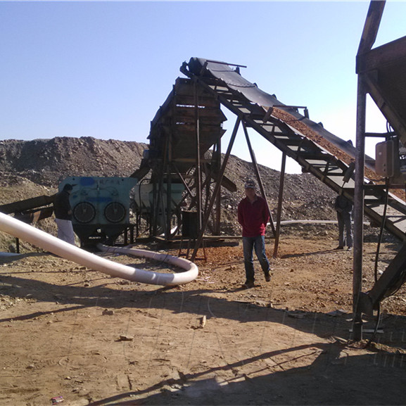 800TPD Alluvial Gold Mineral Processing Plant in Inner Mongolia