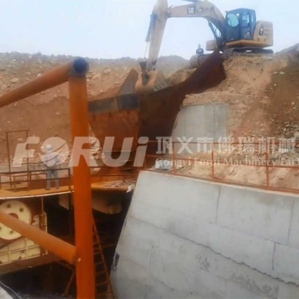 1000~1200TPD Reef Gold Beneficiation Plant in Lingbao
