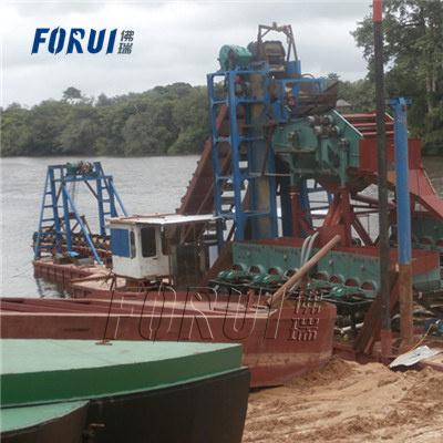 Alluvial Gold Diamond Beneficiation Plant in Liberian