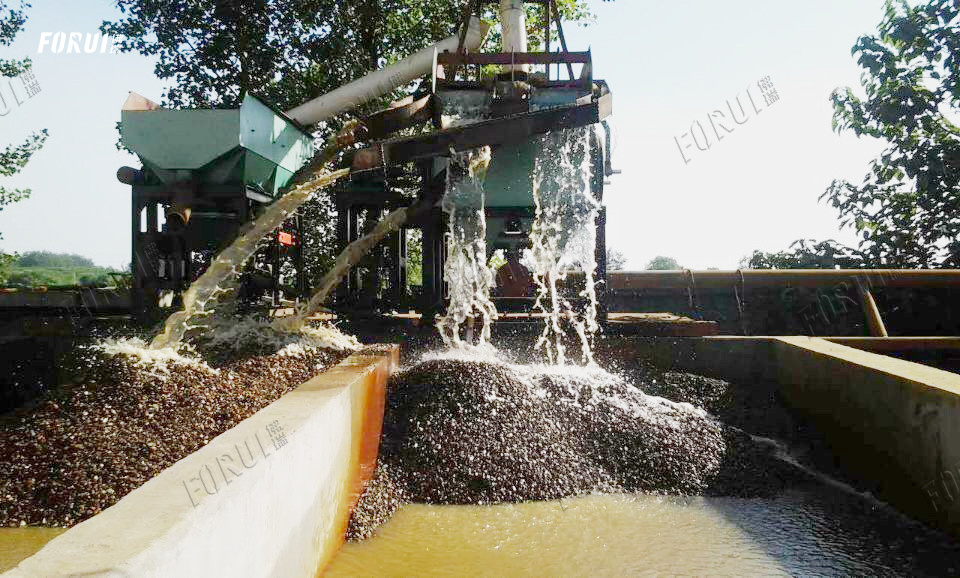 Concentrates and tailings contain a lot of water - Beneficiation Plant
