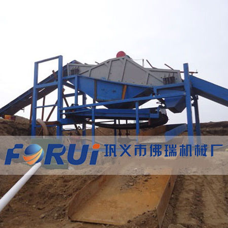 Vibrating Screen Alluvial Gold Processing Plant