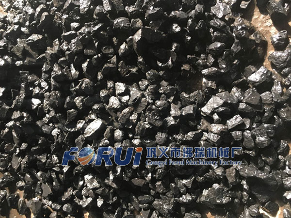 Clean coal obtained from the mineral jig