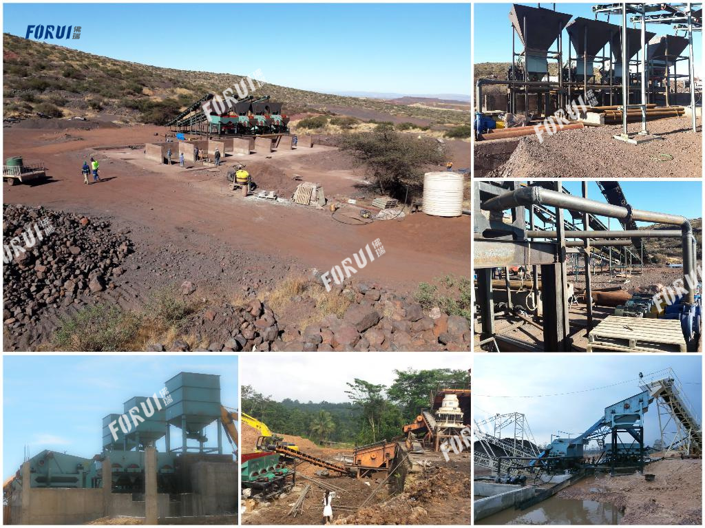 Ferrous Metal Ore Beneficiation Projects