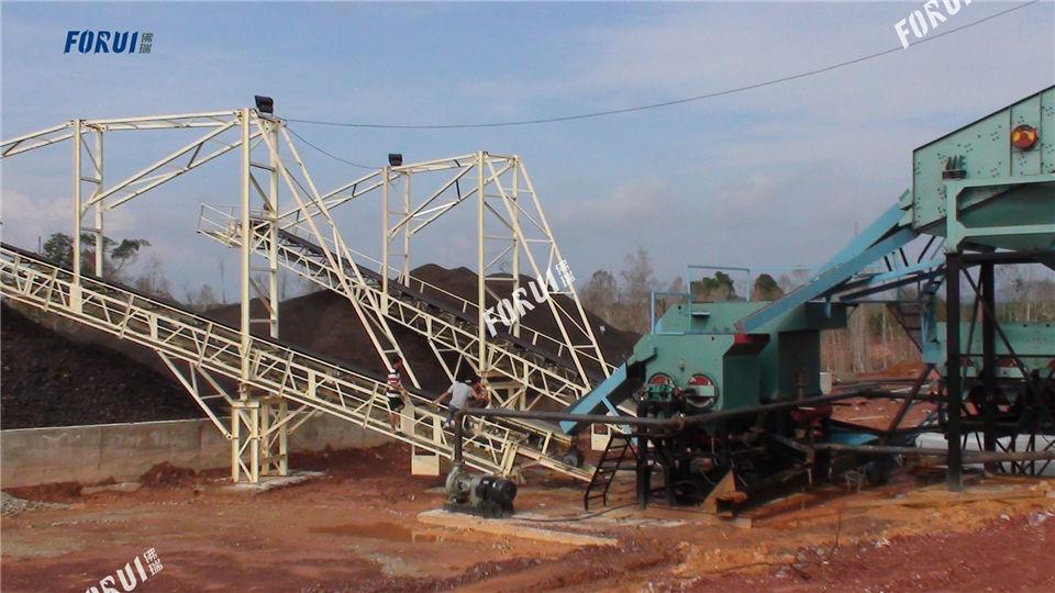 Malaysia manganese ore beneficiation production line