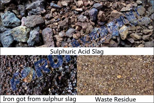 Recovery of Iron from Sulfuric Acid Slag