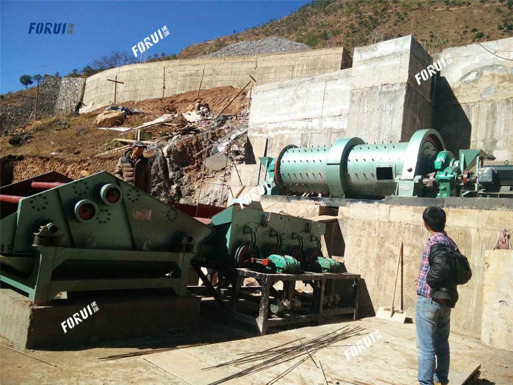 Stibnite Beneficiation Plant in Yunnan